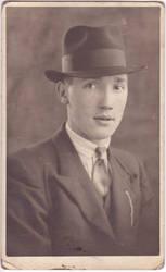 Elegant male with hat c.1935