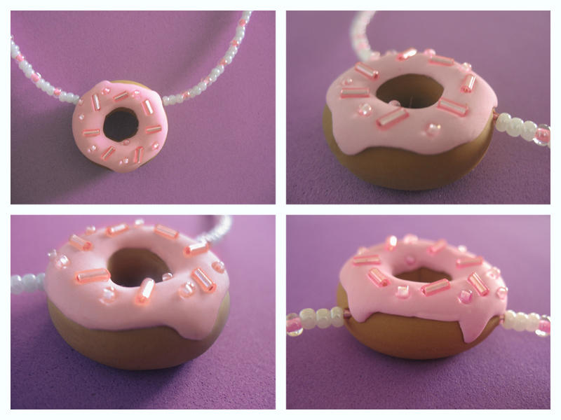 Glazed Ring Necklace by Mimi-Mushroom