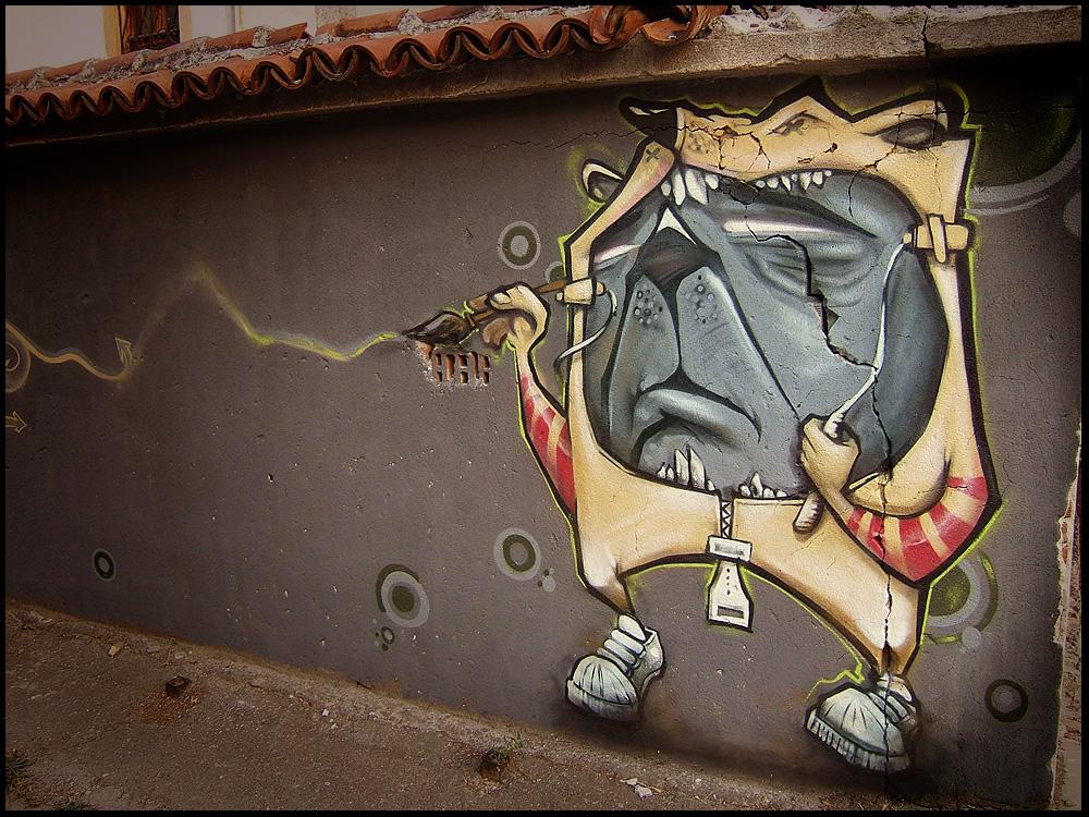 arte callejero murales y graffitis 100 taringa