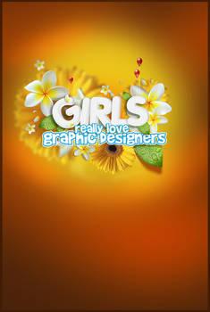 GIRLS love GRAPHIC DESIGNERS