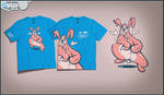 Rabbit suit shirt