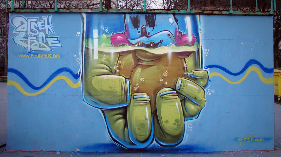 the hand by szc