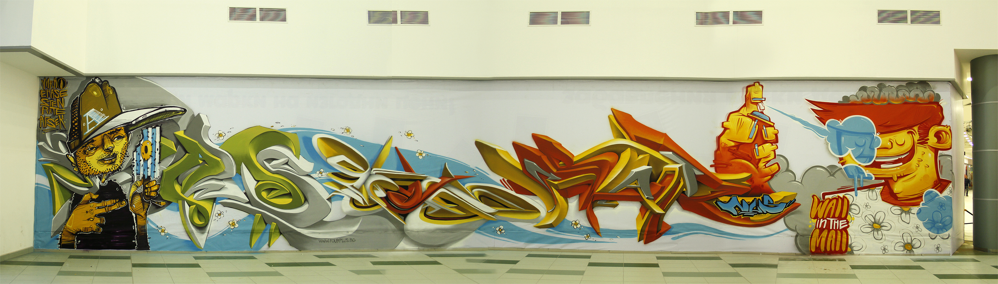 Wall in the Mall by szc