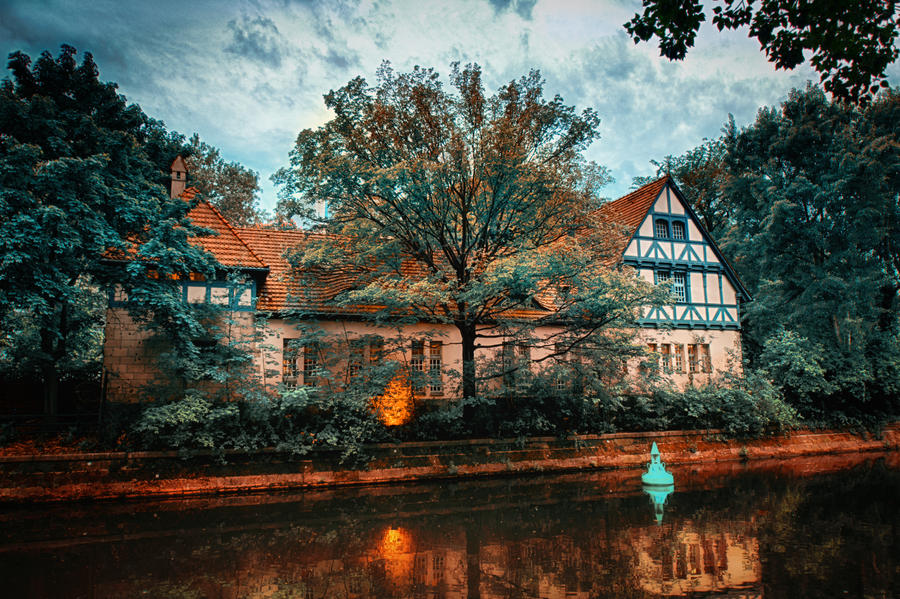 Hidden within the trees by INVIV0