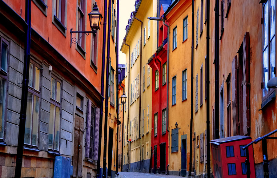 Stockholm's, Gamla Stan by INVIV0