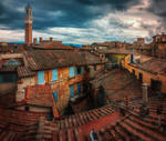 On the rooftops of Italy