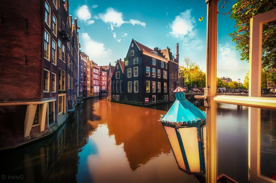 Amsterdam from my window pt2 by INVIV0