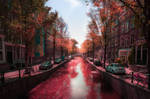Amsterdam in Pink