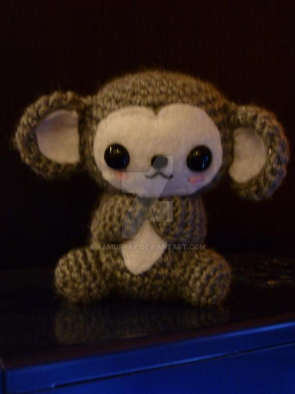 Grey Monkey by AAMurray