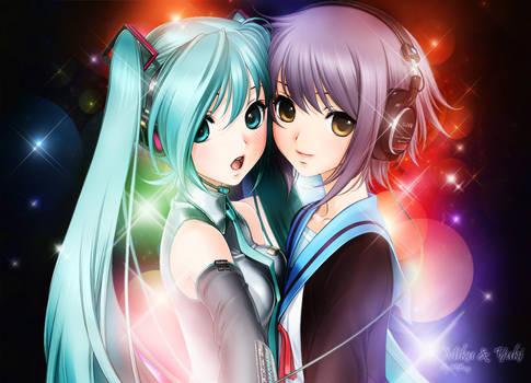 Miku and Yuki
