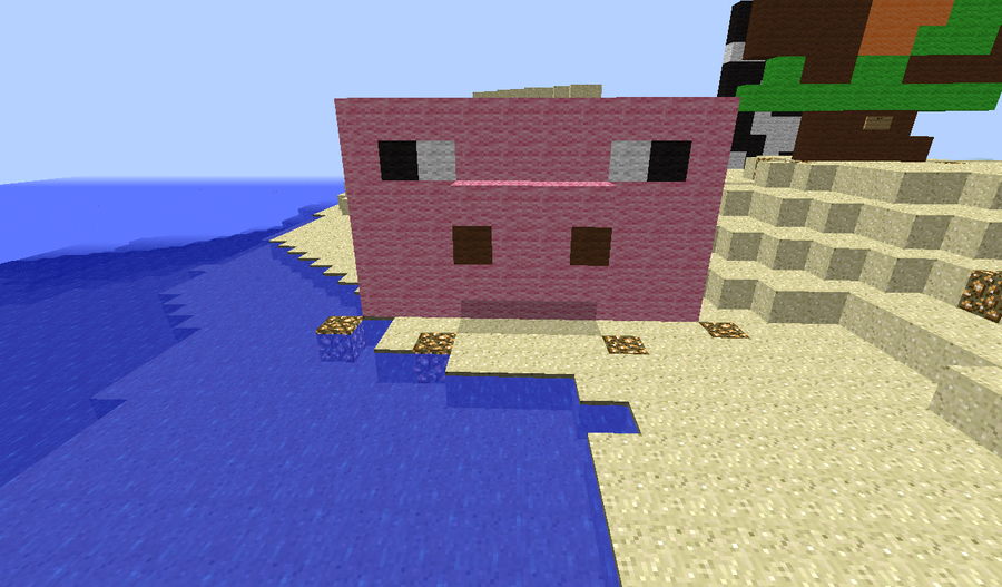 Minecraft Pig Cake Ideas and Designs