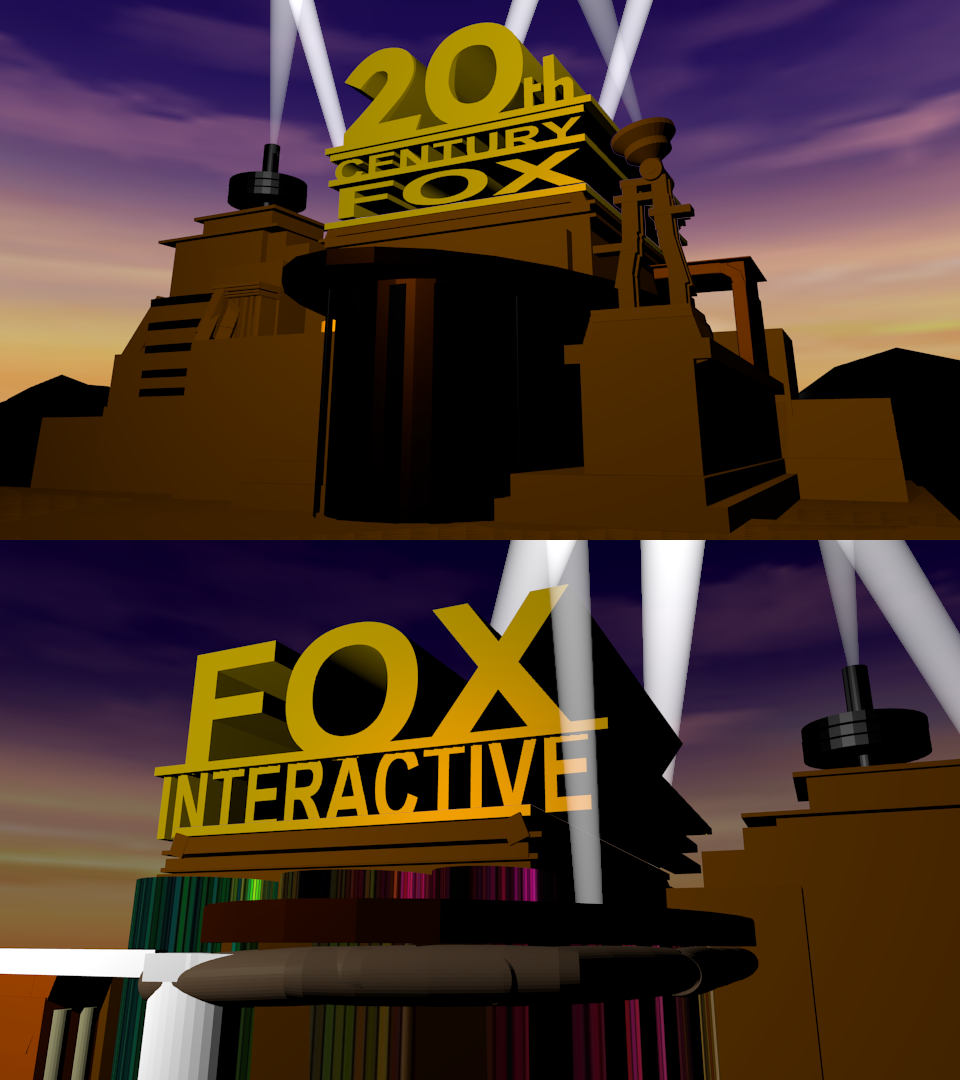 Fox Interactive 2002 Logo Remake (OLD) By SuperBaster2015