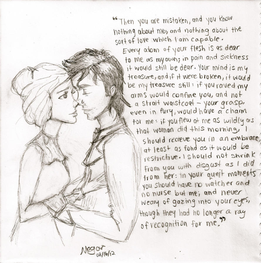 Quotes Jane Eyre Jane Eyre And Mrrochesterthink0Fme On Deviantart