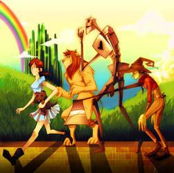 El Mago de Oz by Nadiezda