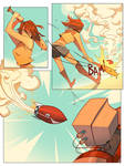 Junko vs. Robot 3