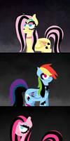 My little goth ponies