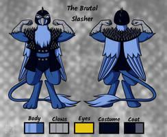 The Brutal Slasher coat Reference