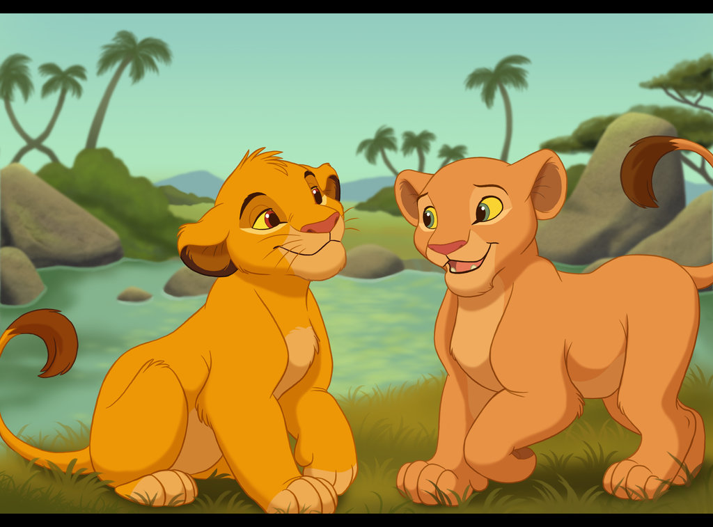 simba relationship with nala and kiara