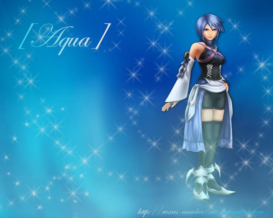 Kingdom Hearts Aqua Wallpaper KH Wallpaper - Aqua by
