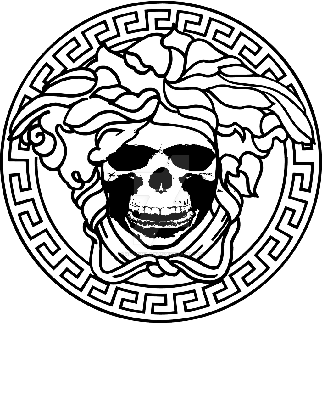 versace logo by robvitela26 on deviantart