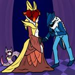 PKMN Rainbow Q10: Eclipse Masquerade