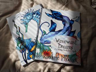 Waveward Dreams: An Adult Coloring Book