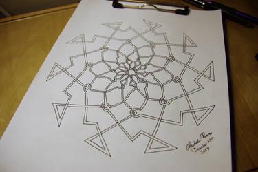 10-Sided Celtic-Inspired Design for Akashic Weave