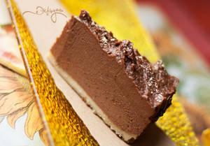 Milk truffle cake (raw vegan)