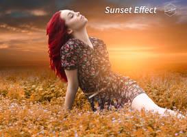 Sunset by Hazemsaleh