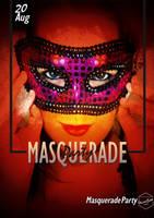 The Woman mask by Hazemsaleh
