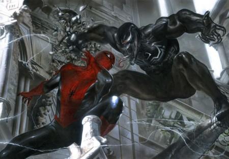 Venom and The Spider by VergilAngelo