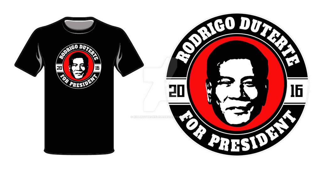 Digong for President by killingtheukelele