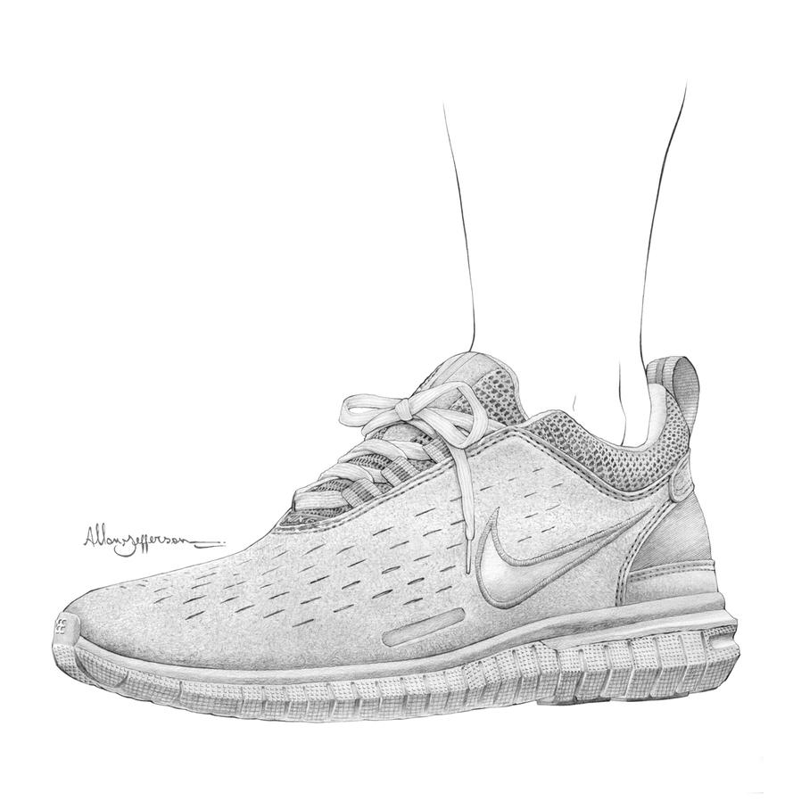 Nike publicity campaign illustration - 032 by AllJeff