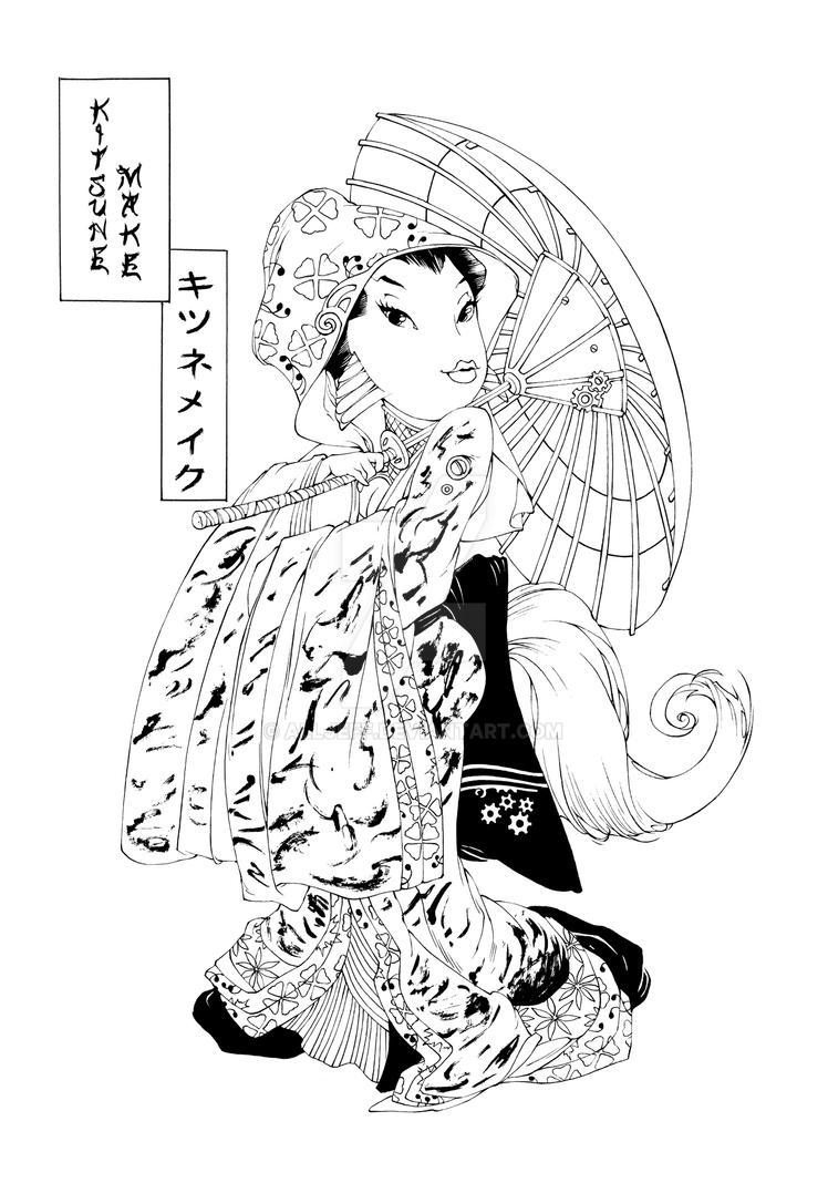 Kitsune Make by AllJeff