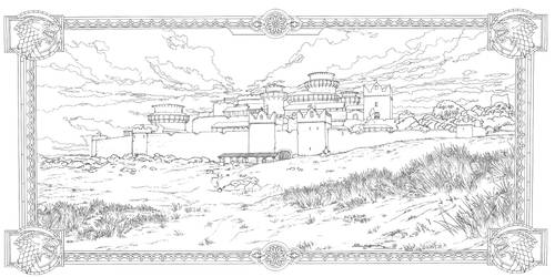 Game Of Thrones_ Coloring Book_ 17 by AllJeff