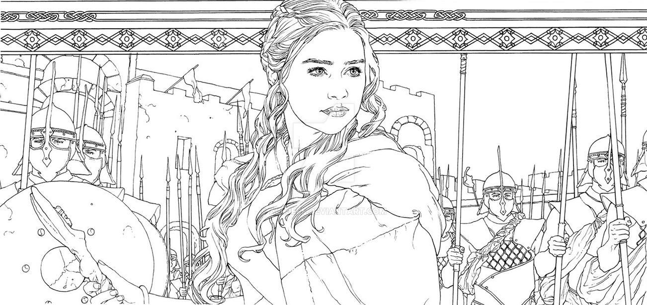 Daenerys_ detail by AllJeff