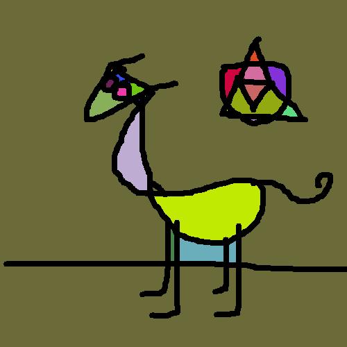 llama by muffaelucciole