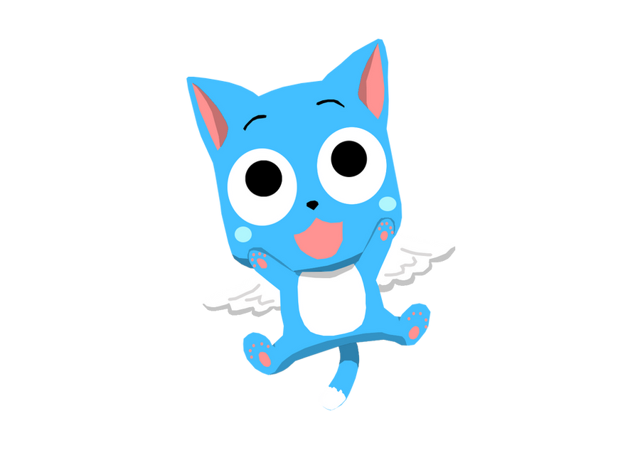 Happy Cat Fairy Tail