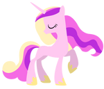 Graceful Princess Cadance