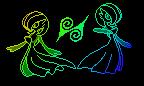 iScribble: Gardevoir sprites by leafbarrett