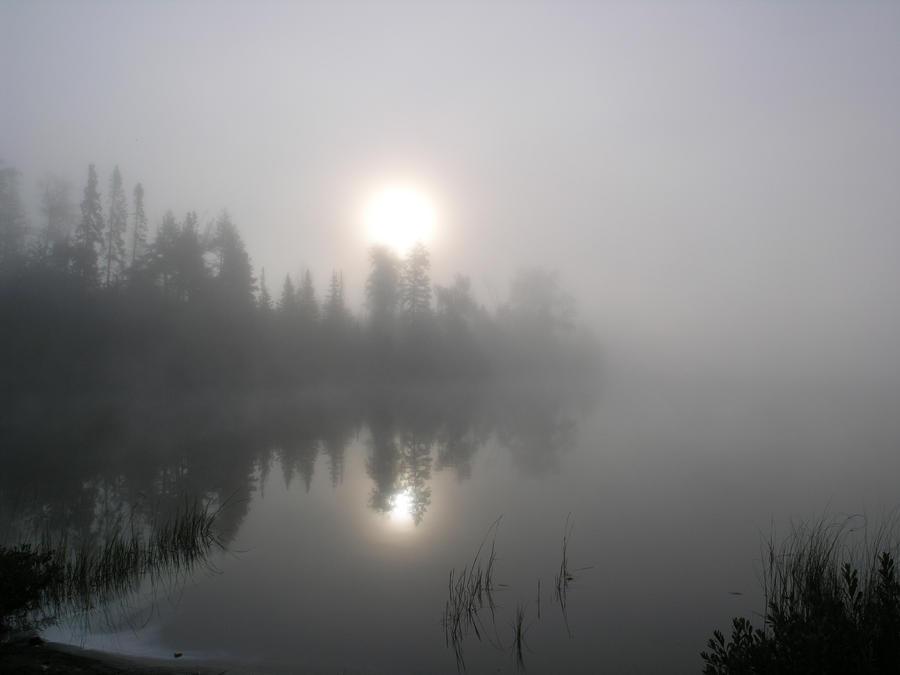 Burning off the fog by RocksRose