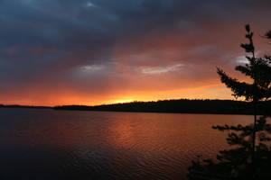 Somber Morning Glow by RocksRose