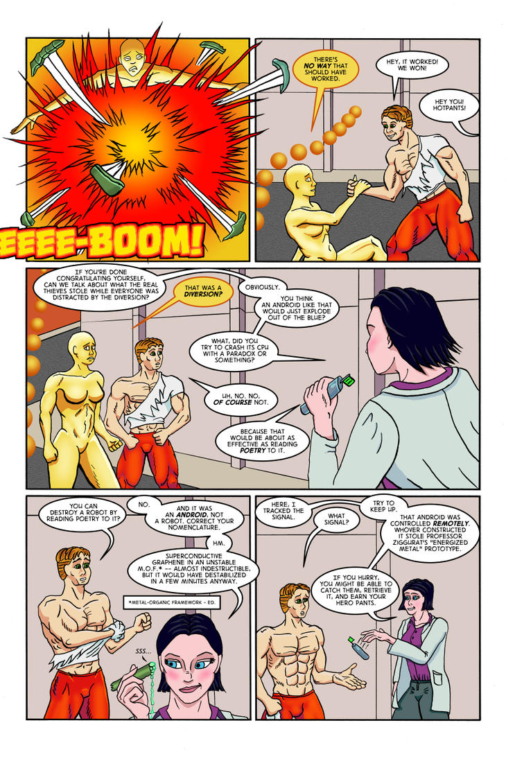 The Ripper Effect: Issue No. 1, Page 16 by EvilFishmonger