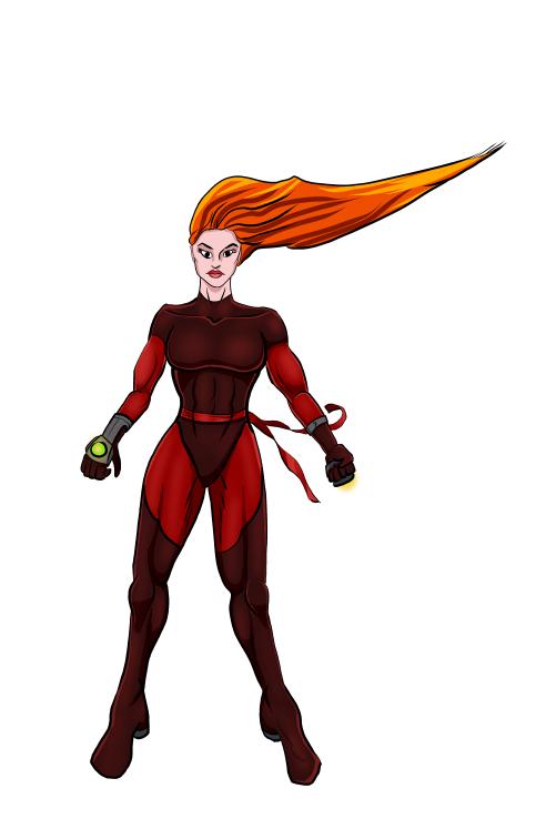 Stryke Costume Test by EvilFishmonger