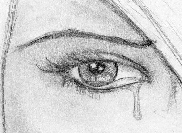 Crying eye drawing | tattoo | Pinterest | Crying Eyes, Eye ...