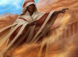 Nubian Sorceress by ManuelDupong