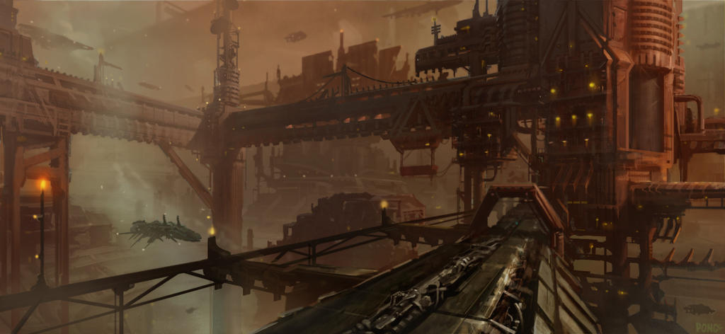 Smog and Steel by ManuelDupong