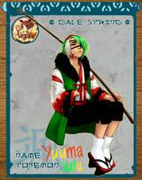 Pokimono - Yuuma App by ginmushroom