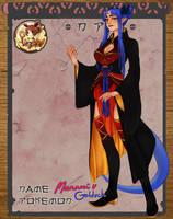 :Pokimono: NPC- Manami by ginmushroom