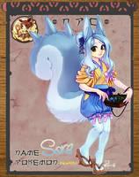 :Pokimono: NPC- Sora by ginmushroom
